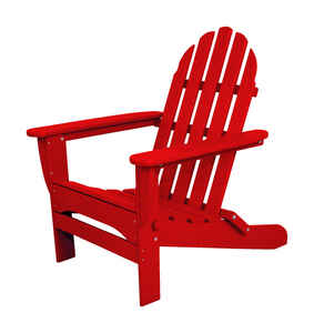 Ivy Terrace  Red  Polypropylene  Chair