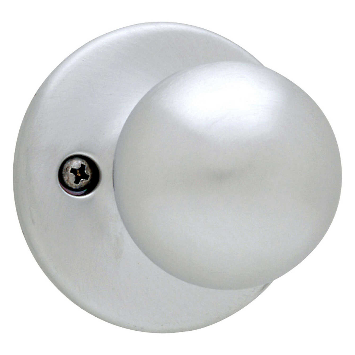 Kwikset  Polo  Satin Chrome  Steel  Dummy Knob  3 Grade Right or Left Handed