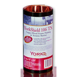 York 106 TS 8 in. W x 720 in. L Copper Flashing Copper