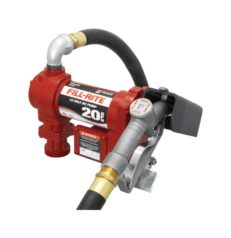 Fill-Rite  Cast Iron  High Flow Fuel Pump  20