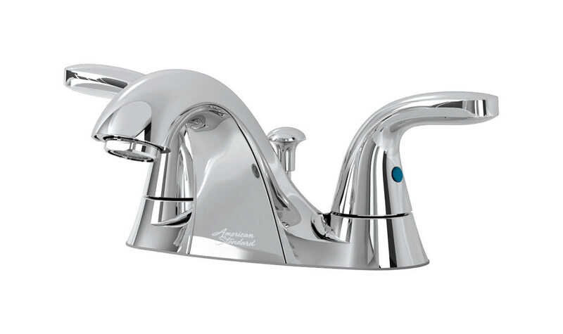 American Standard  Cadet  Cadet  Two Handle  Lavatory Faucet  4 in. Chrome