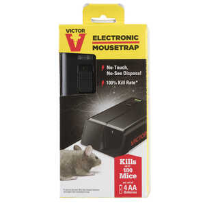 Victor  Small  Electronic  Animal Trap  For Mice 1 each