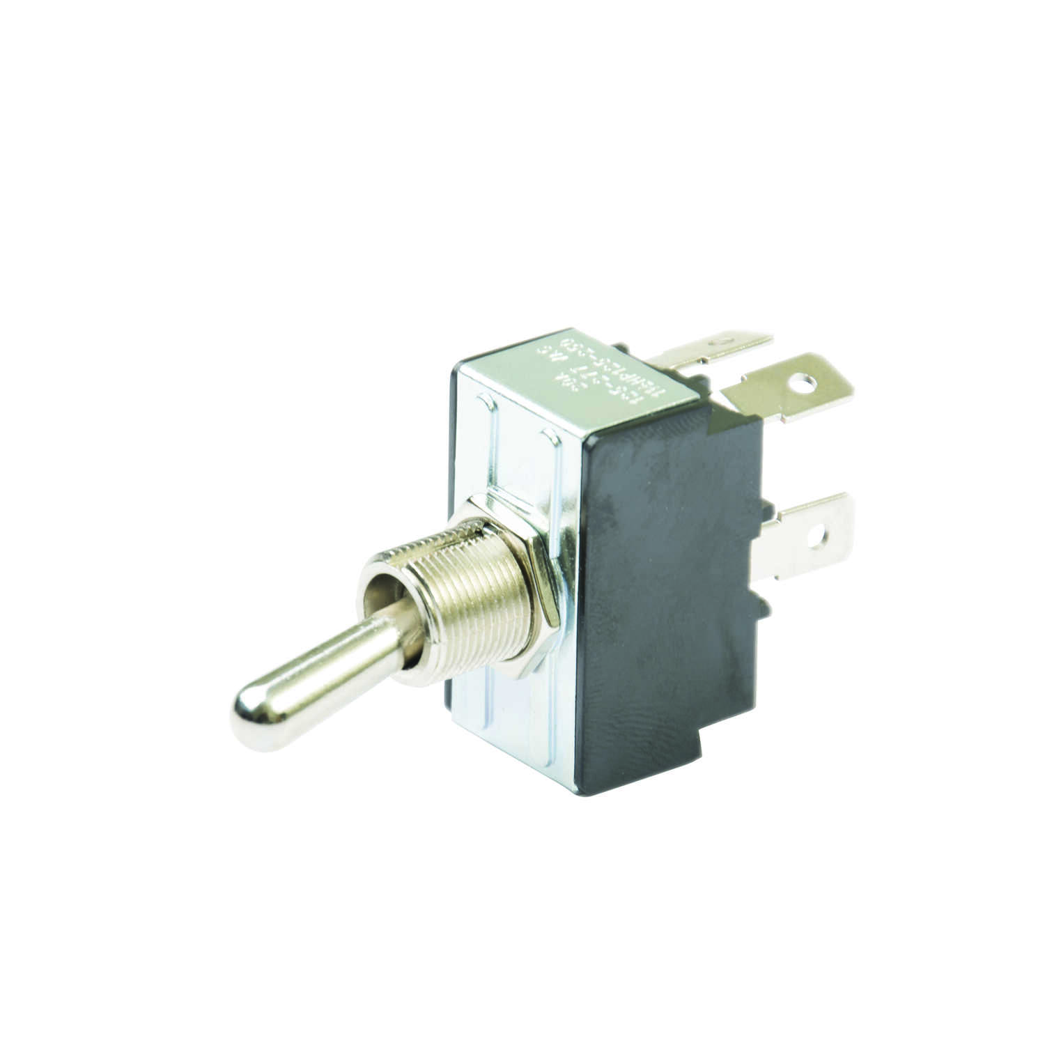Gardner Bender  20 amps Double Pole  Toggle  Switch  Silver  1 pk