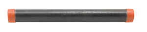 B&K Mueller  1-1/2 in. Dia. x 18 in. L Black  Steel  Pre-Cut Pipe