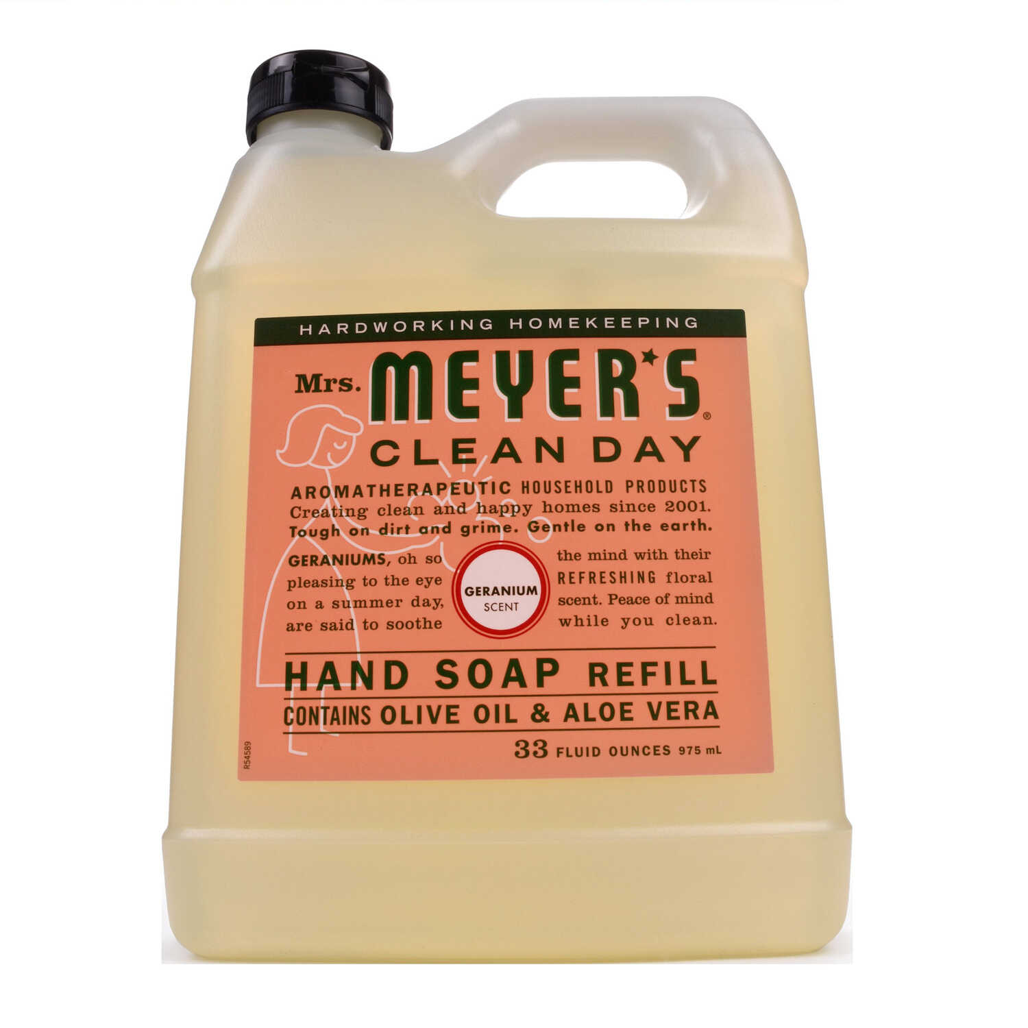 Mrs. Meyer's  Clean Day  Organic Geranium Scent Hand Soap Refill  33 oz.