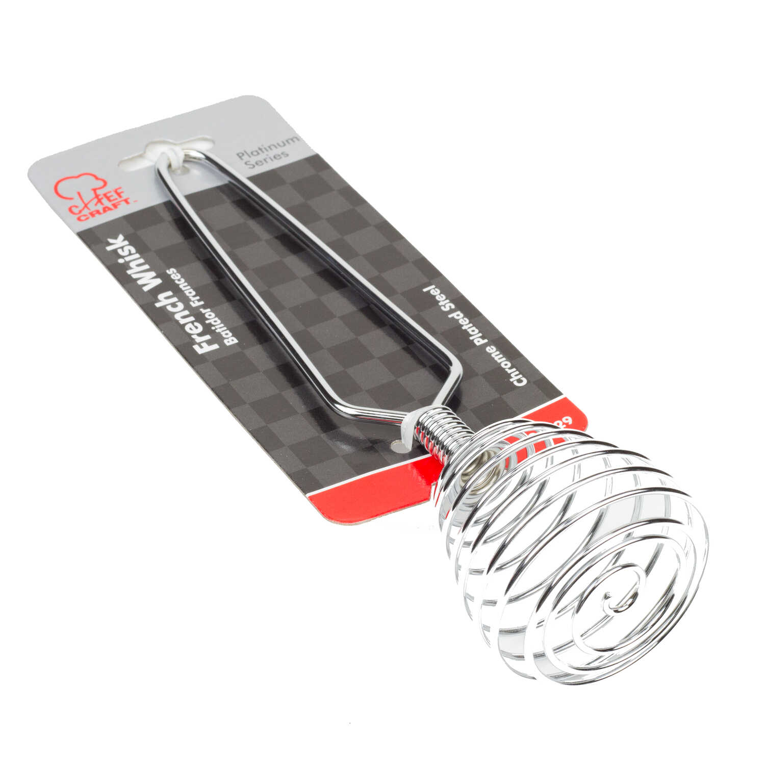 Chef Craft  2-3/4 in. W x 7-1/4 in. L Silver  French Whisk