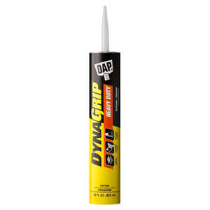 DAP  DynaGrip  Construction Adhesive  28 oz.