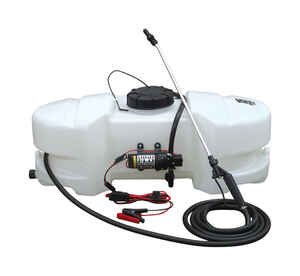 Fimco  Adjustable Spray Tip Tank Sprayer  15 gal.