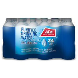 Ace  Bottled Water  16.9 oz. 24 pk