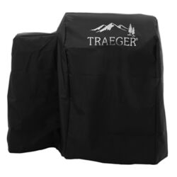 Traeger  20 Series  Black  Grill Cover  For Form fitted for Tailgater 20-TFB30LUB and TFB30LZB 21 in