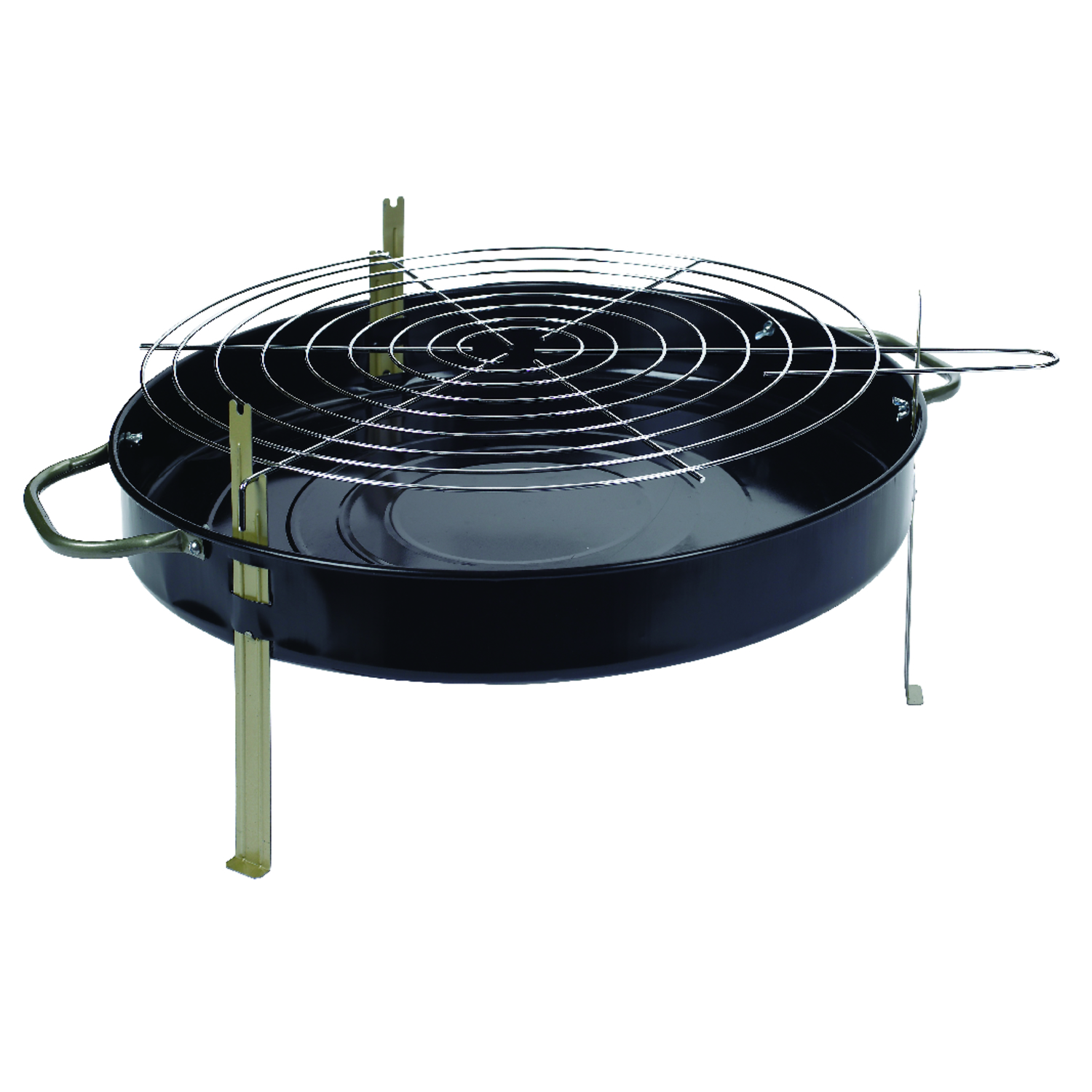 Marsh Allen Table Top 18 Inch Charcoal 22 In. W Table Top Grill Black