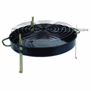 Marsh Allen  Charcoal  18 in. W Black  Table Top Grill
