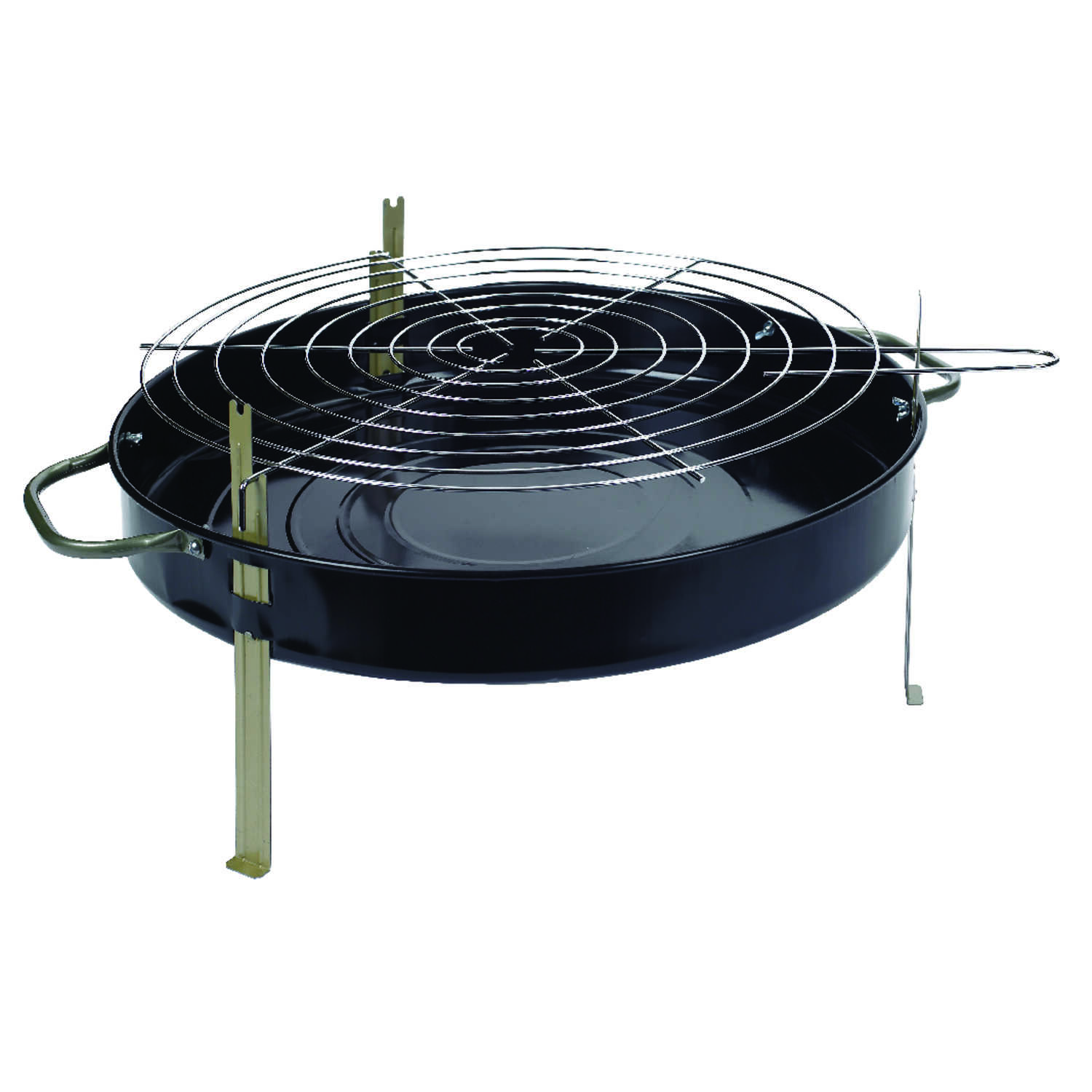 Marsh Allen Charcoal 22 In W Black Table Top Grill Ace Hardware