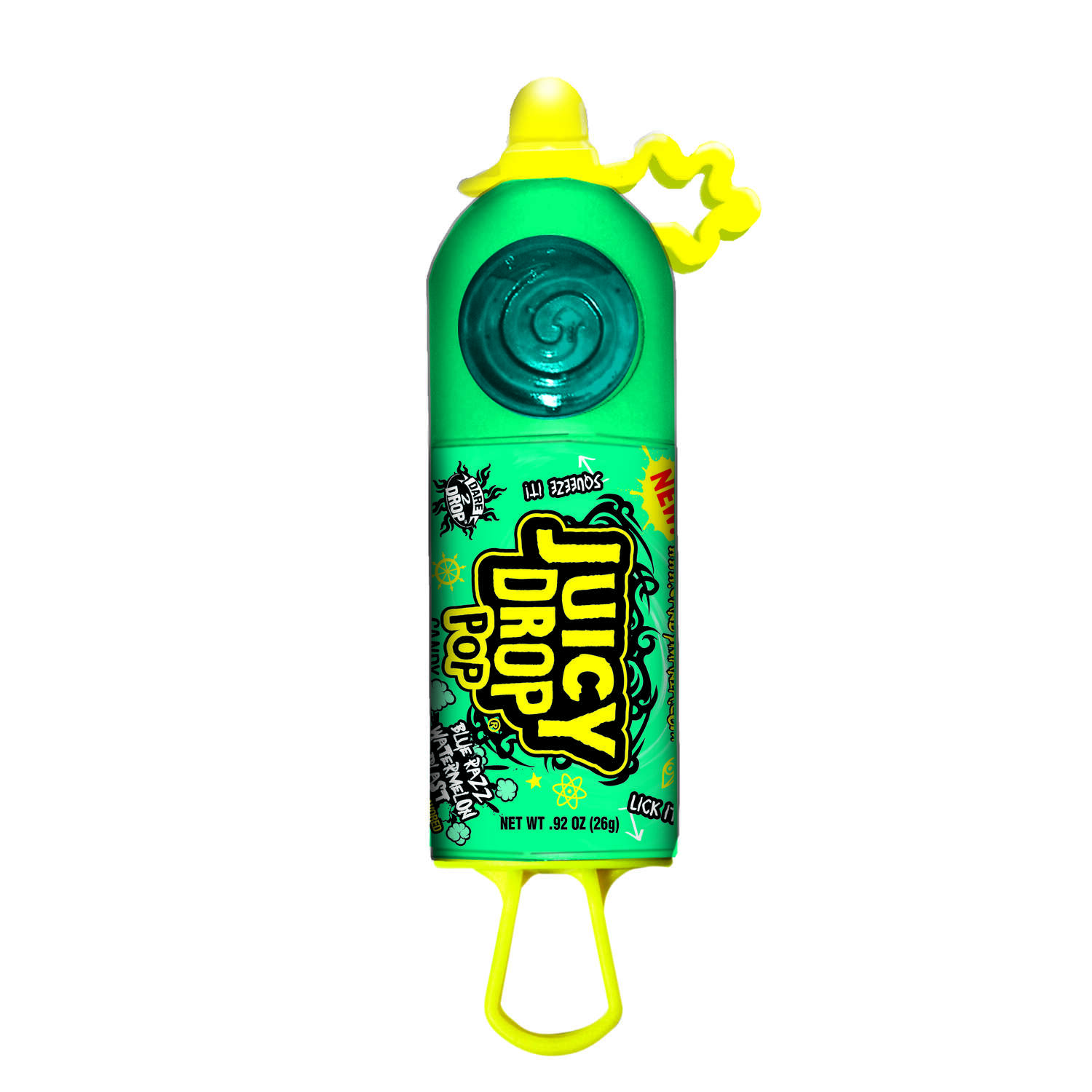 Topps  Juicy Drop  Assorted  Lollipop  0.92 oz.