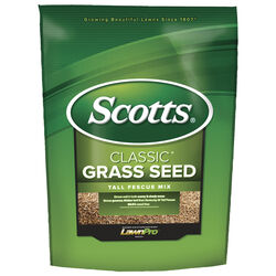 Scotts  Classic  Tall Fescue  Sun/Shade  Grass Seed  20 lb.