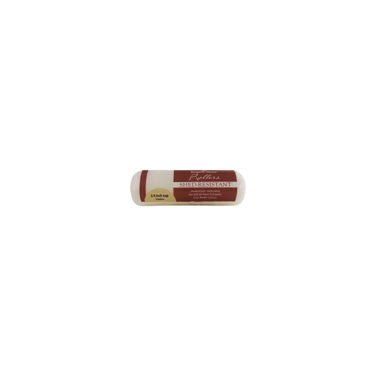 Benjamin Moore Fabric 9 in. W x 3/4 in. Paint Roller Cover 1 pk