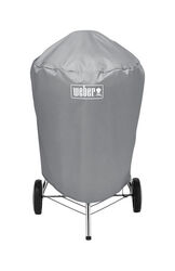 Weber  Gray  Grill Cover  For 22 inch Weber charcoal grills 23 in. W x 36 in. H