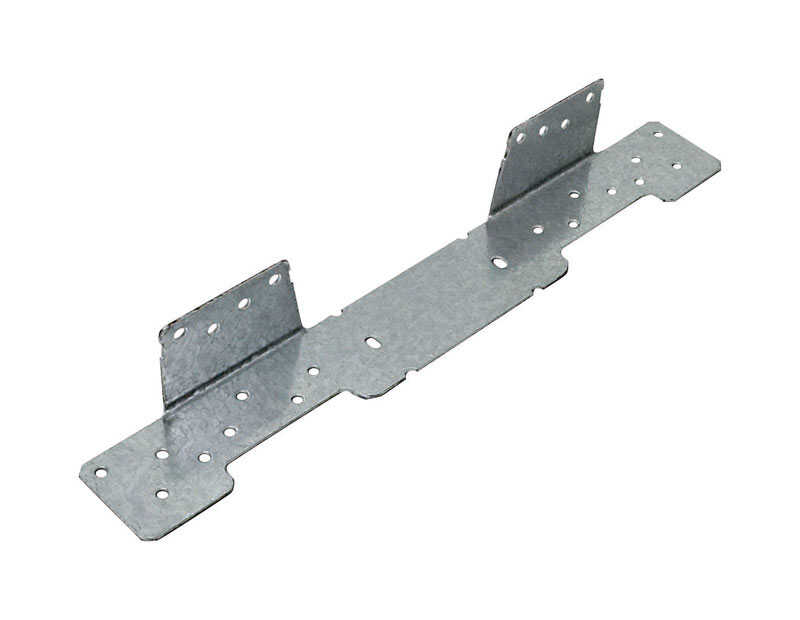 Simpson Strong-Tie  1.55 in. W x 1-1/2 in. H x 1-1/2 in. W x 1.55 in. H Galvanized Steel  Stringer C