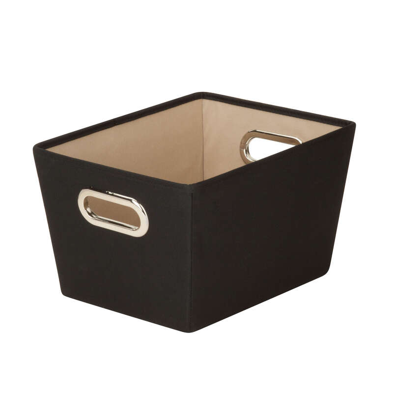 Honey Can Do  7-9/16 in. H x 9-13/16 in. W x 13 in. D Fabric Storage Bin