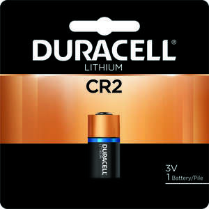 Duracell  Lithium  CR2  Camera Battery  DLCR2BPK  1 pk