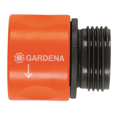 Gardena 5/8 and 1/2 in. Nylon/ABS Threaded Female Hose Connector