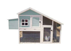 Precision  3-4 Chickens  Firwood  Peak Roof Chicken Coop