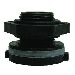 Green Leaf  1 3/8 in. FPT   x 3/4 in. Dia. Threaded  Polypropylene  Connector
