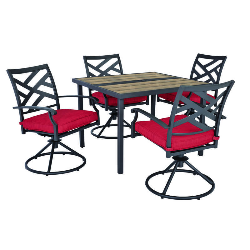Living Accents 5 Pc Dining Set Red Ace Hardware