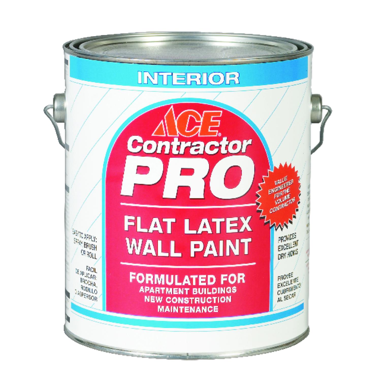 White latex paint