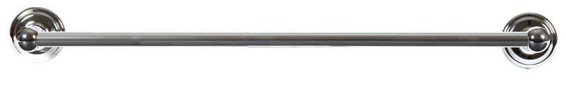 Franklin Brass  Jamestown  Chrome  Towel Bar  24 in. L Die Cast Zinc