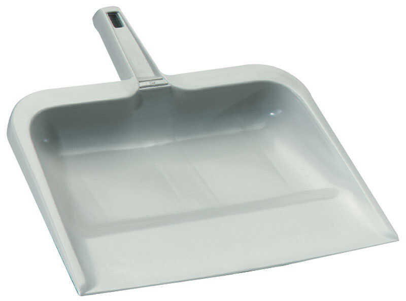Rubbermaid  Plastic  Wide Mouth  Dust Pan