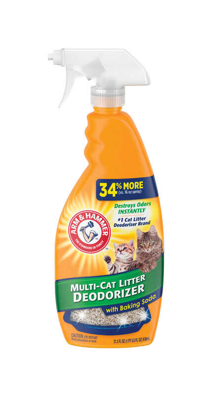 Arm & Hammer  No Scent Odor Eliminator  21.5 oz. Liquid