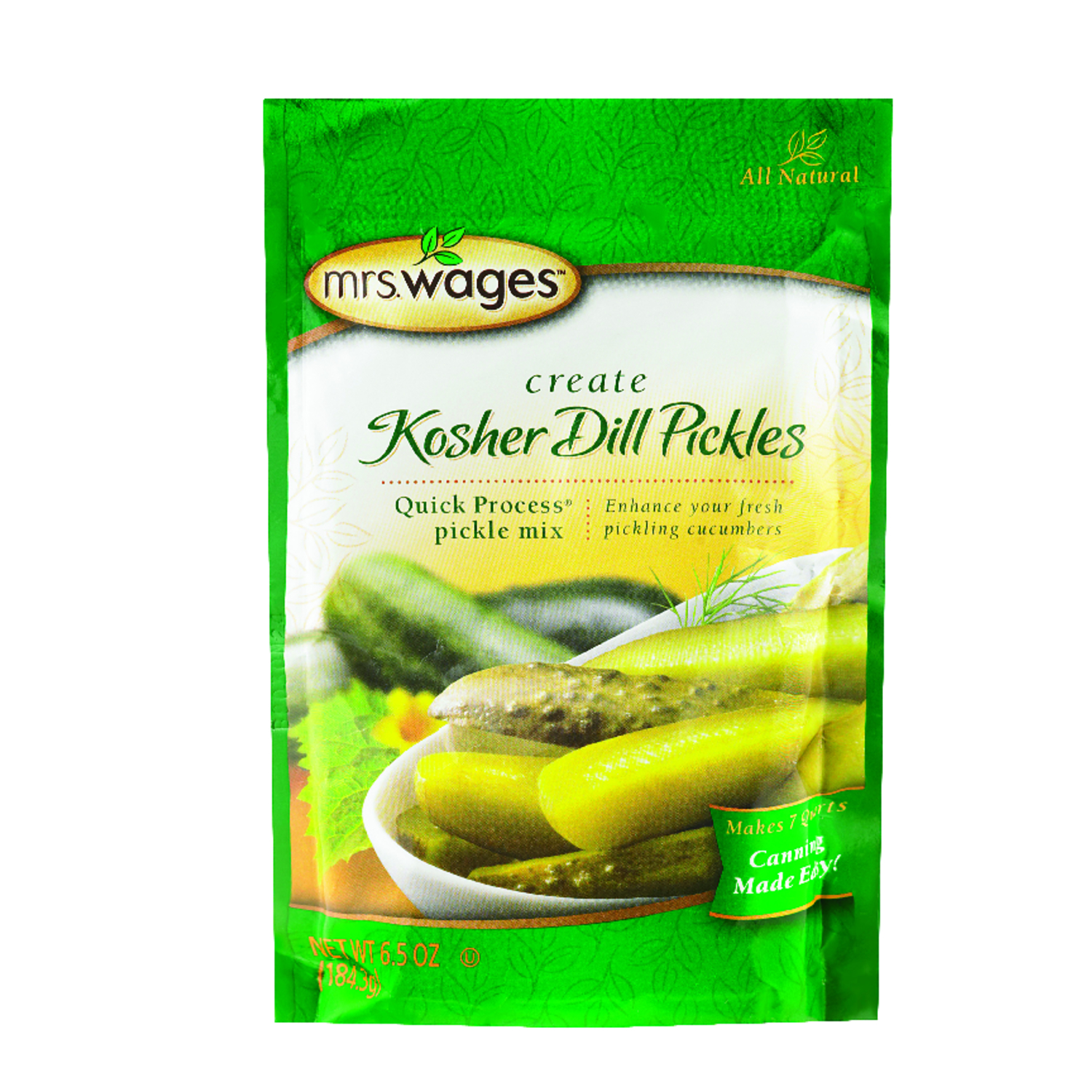 Mrs. Wages  Kosher Dill Pickle Mix  1 pk 6.5 oz.