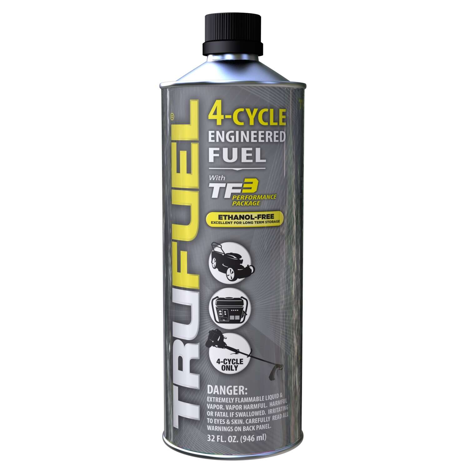 TruFuel  Ethanol-Free 4-Cycle  Engineered Fuel  32 oz.