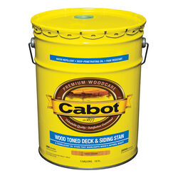 Cabot  Transparent  19202 Cedar  Oil-Based  Penetrating Oil  Deck and Siding Stain  5 gal.