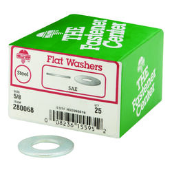 Hillman  Zinc-Plated  Steel  5/8 in. SAE Flat Washer  25 pk