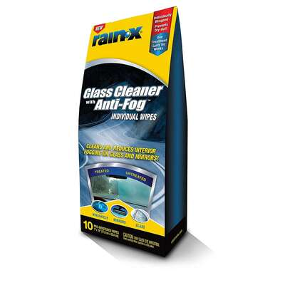 Rain-X Interior Glass Anti-Fog Wipes 10 count