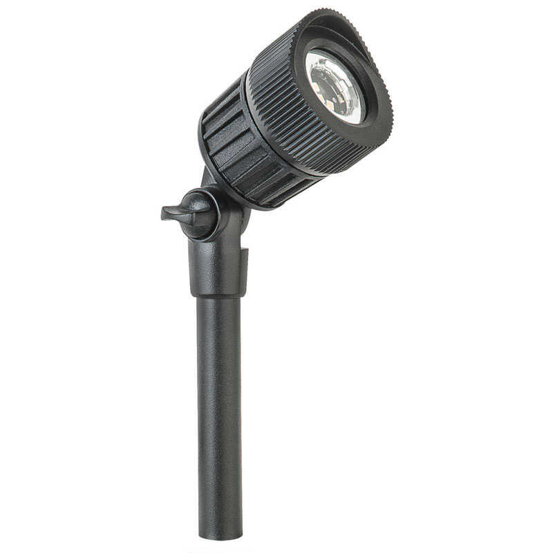 Paradise  Black  Low Voltage  5 watts LED  Spot Light  1 pk