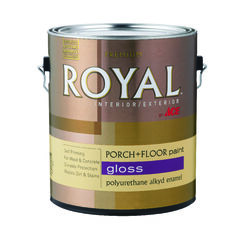 Ace  Royal  Gloss  Steel Wool Gray  Porch & Patio Floor Paint  1 gal.