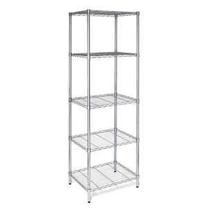 Honey Can Do  24 in. W x 72 in. H x 18 in. D Steel  Multi Rack Shelving Unit