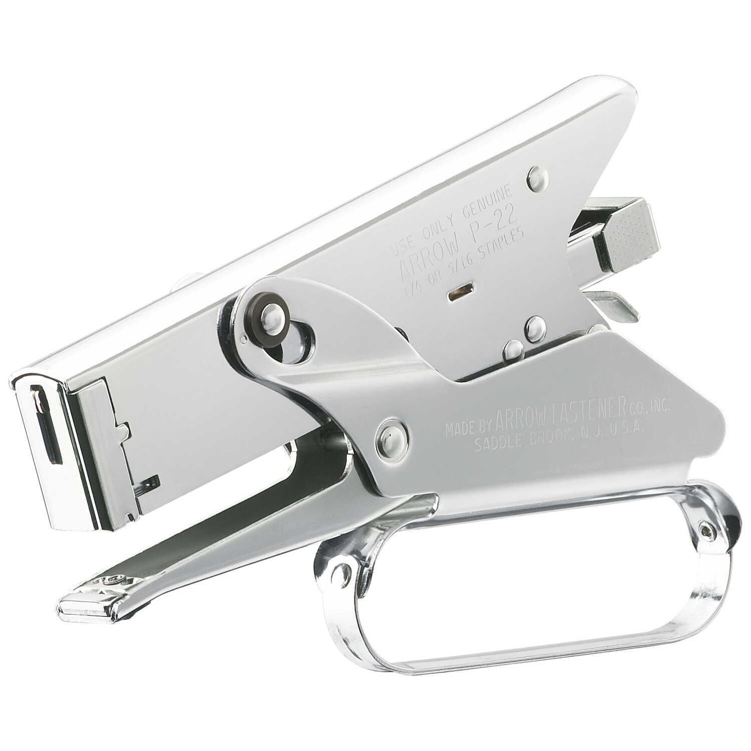 Arrow  Flat  Plier Stapler  Chrome