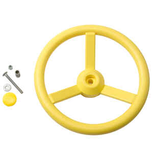 Swing-N-Slide  Polyethylene  Steering Wheel