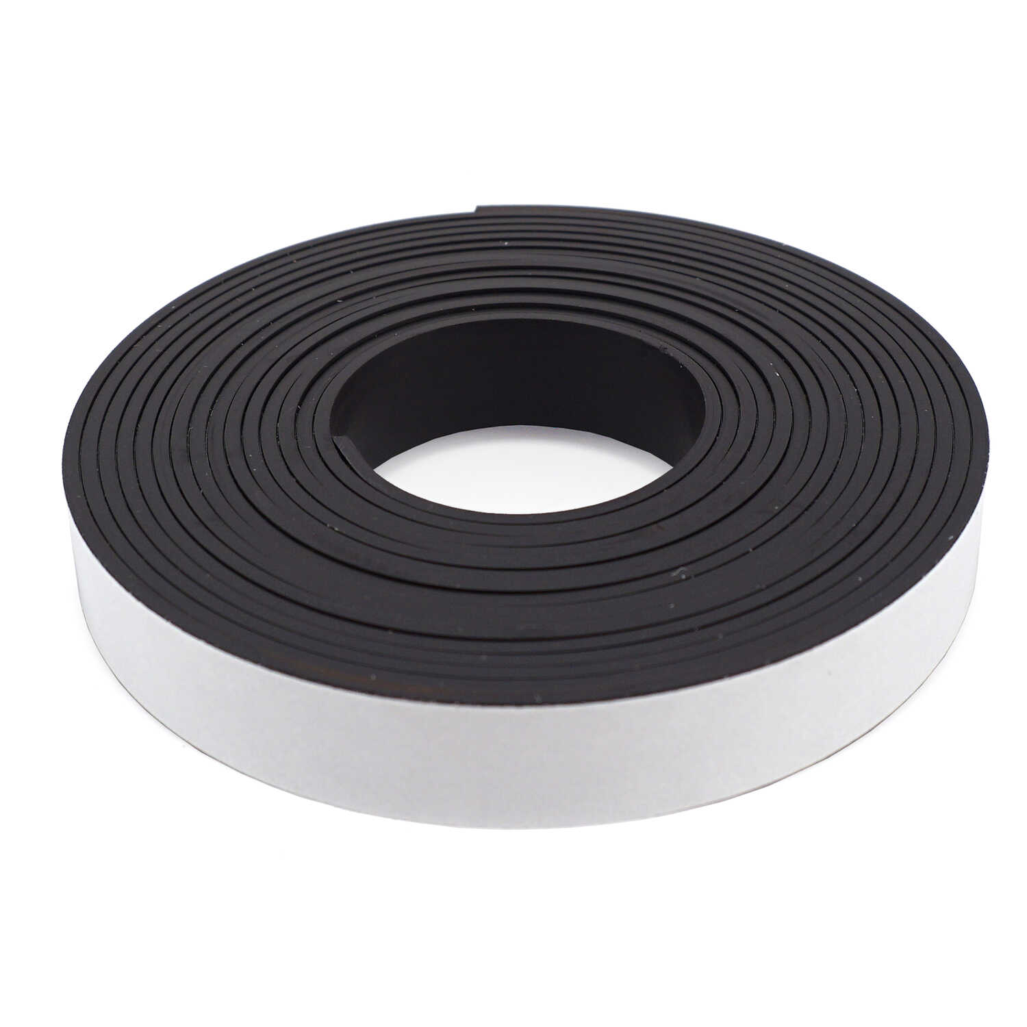 master magnetics 5 in w x 120 in l the magnet source black