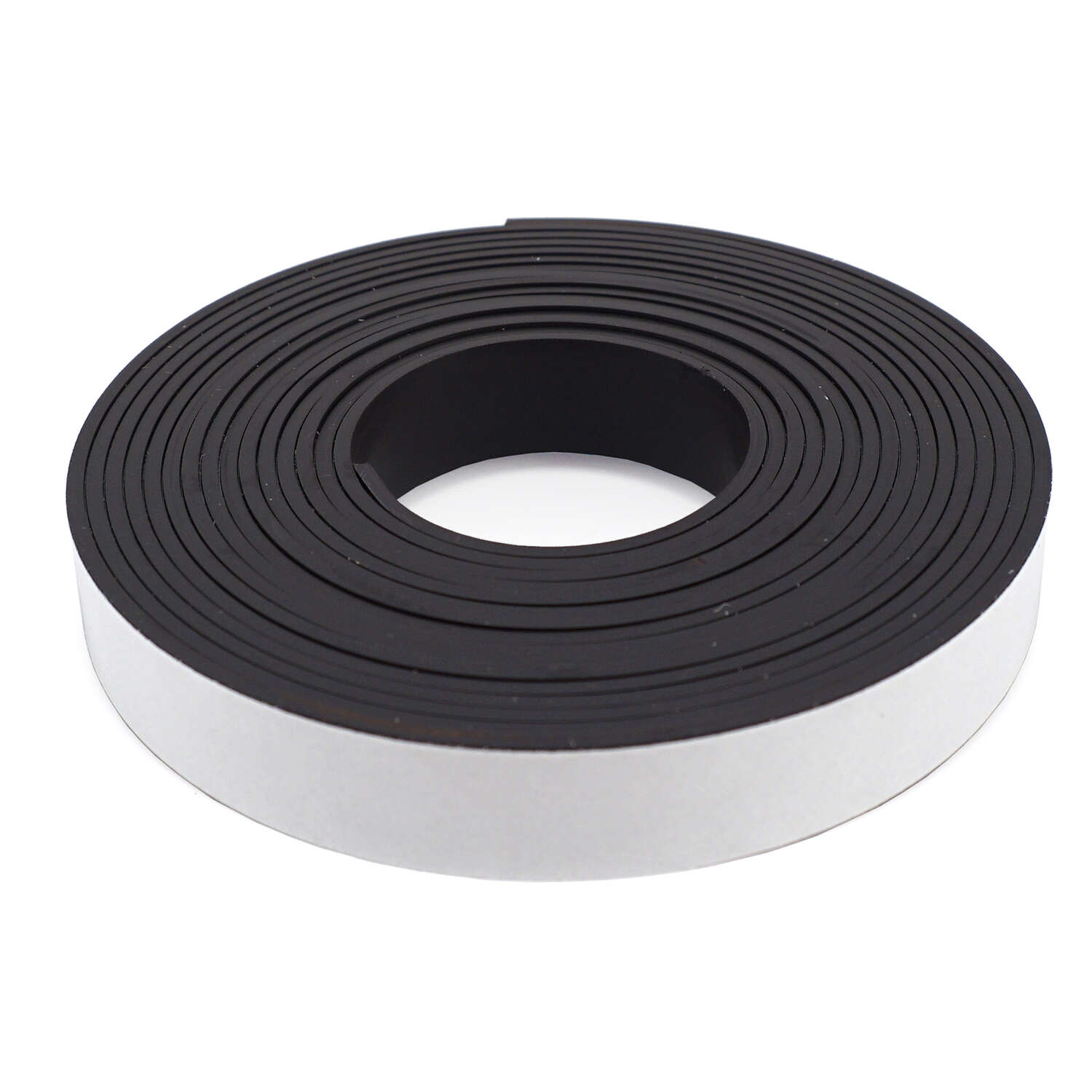 Master Magnetics  The Magnet Source  .5 in. W x 120 in. L Mounting Tape  Black