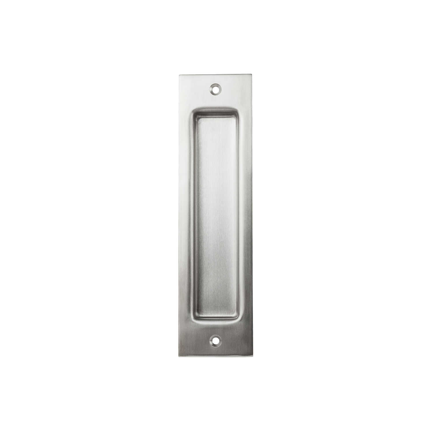 National Hardware  8 in. L Satin Stainless Steel  Metallic  Stainless Steel  Flush Pull