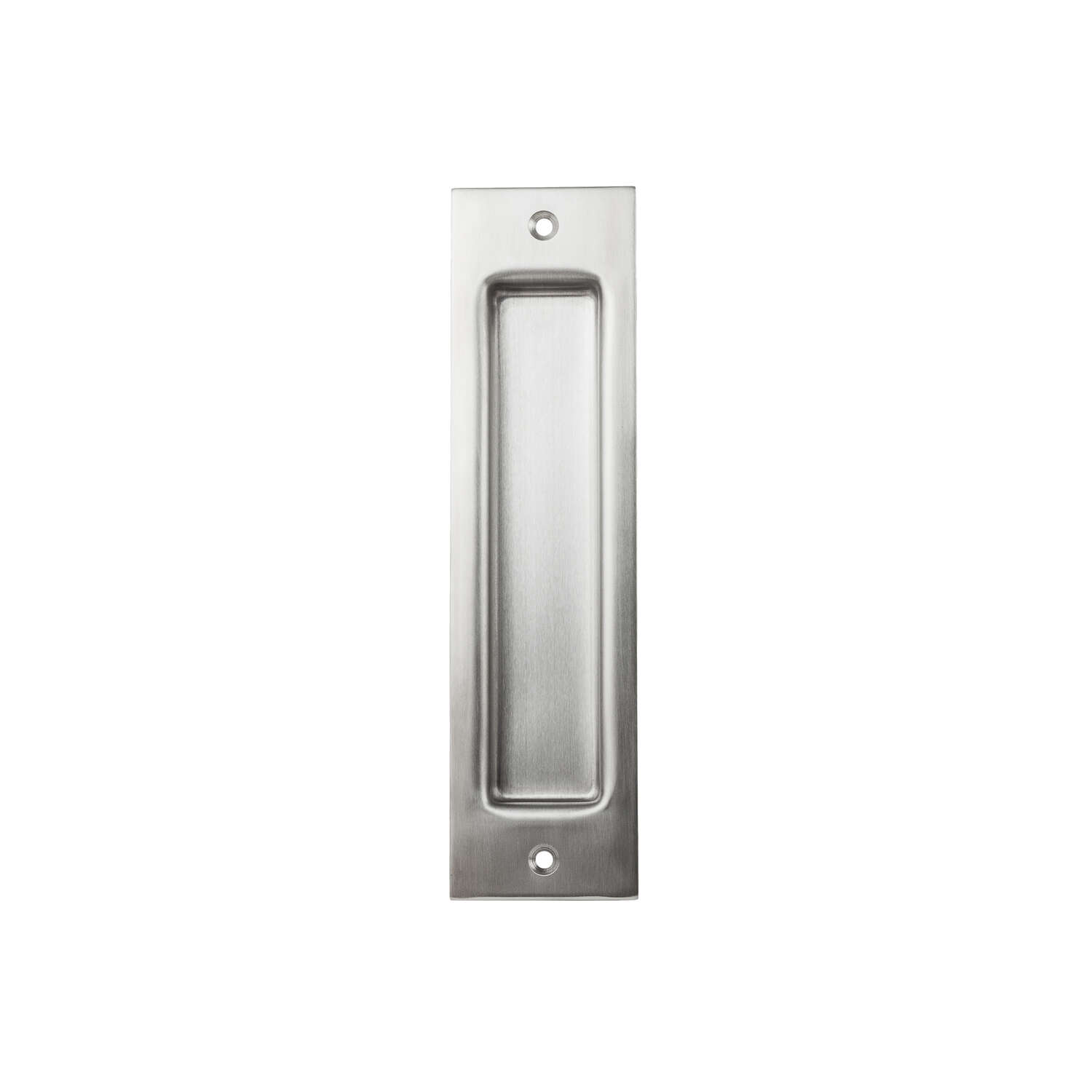 National Hardware  8 in. L Silver  Stainless Steel  Flush Pull