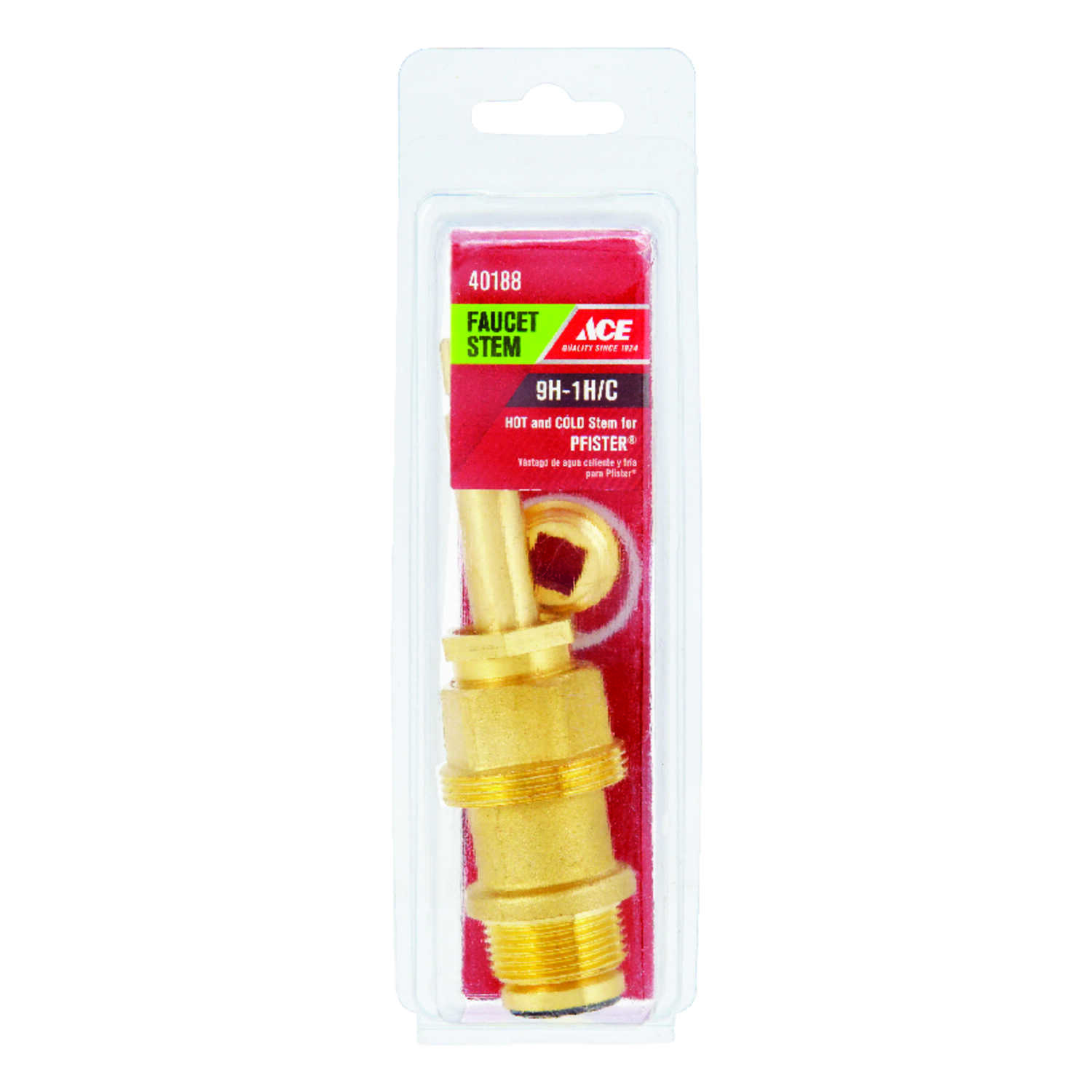 Ace  Hot and Cold  9H-1H/C  Faucet Stem  For Pfister