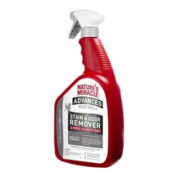 Nature's Miracle  Advanced Platinum  Dog  Liquid  Odor/Stain Remover  32 oz.