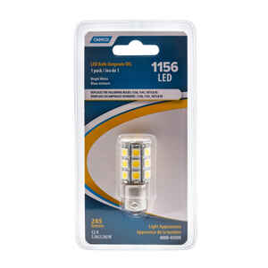Camco  Automotive Bulb  1156  Bright White  1 pk