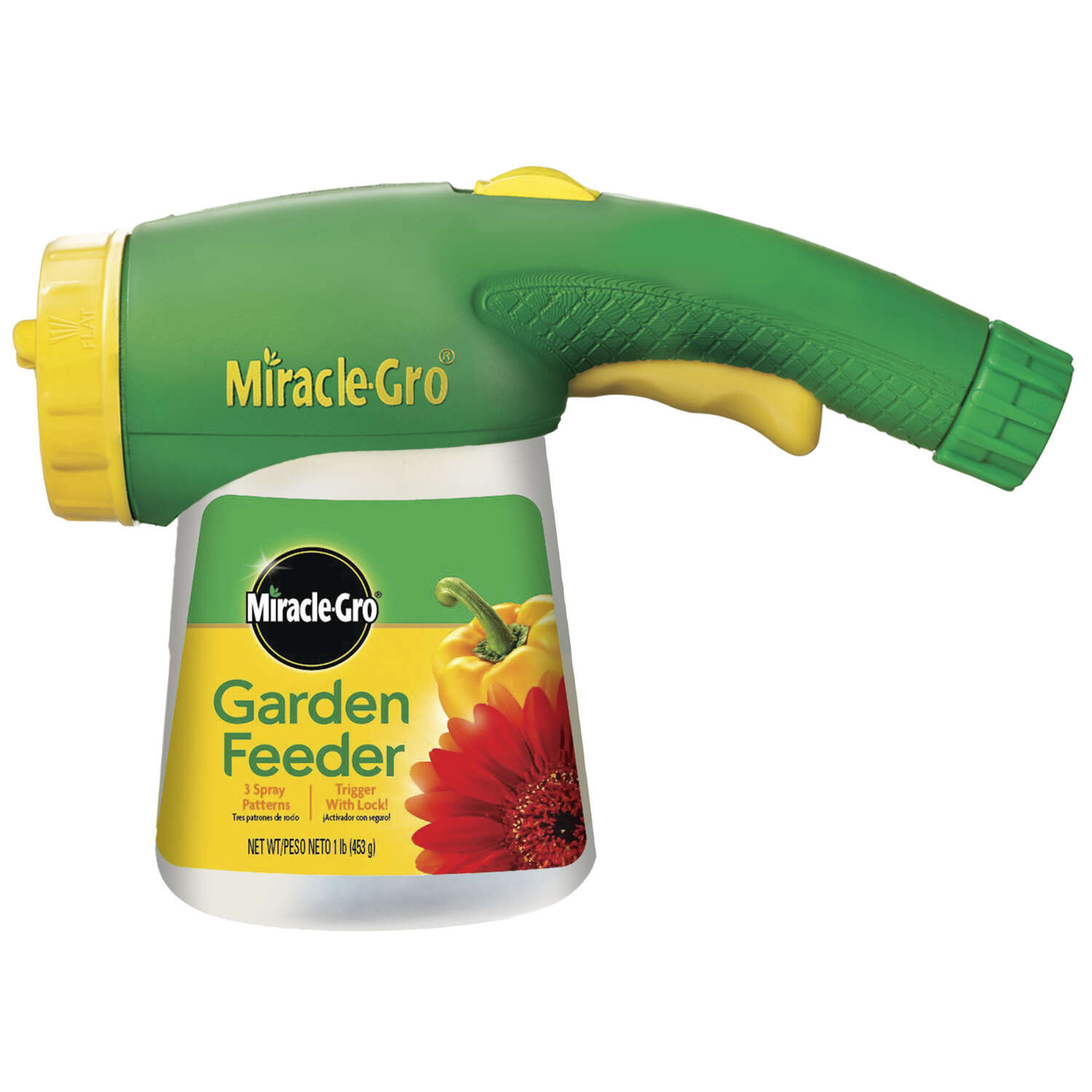 Miracle-Gro  Garden Feeder  Powder  Sprayer Starter Kit  1 lb.